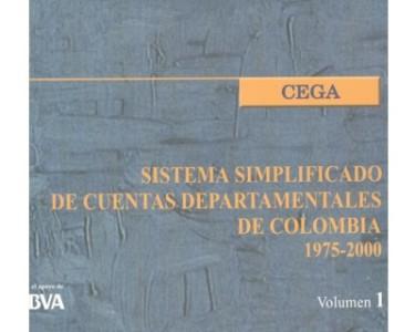 Sistema simplificado de cuentas departamentales de Colombia. 1975-2000. Vol.1 (Incluye CD)
