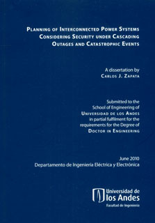 Planning of Interconnected Powers Systems Considering Security Under Cascading Outages and Catastrophic Events