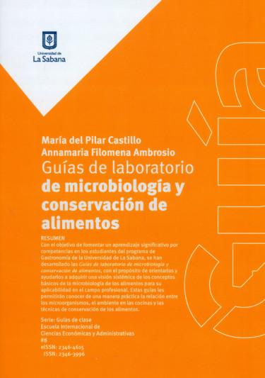 Guías de laboratorio de microbiología y conservación de alimentos