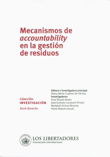 Mecanismos de accountability en la gestión de residuos