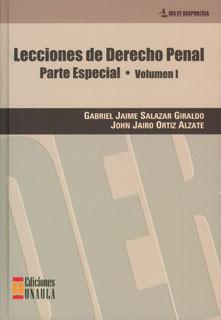 Lecciones de derecho penal: parte especial Vol. I