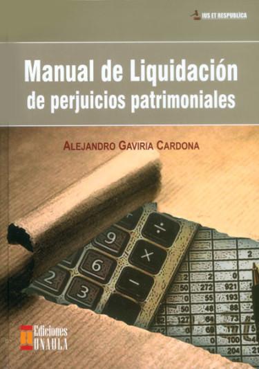 Manual de liquidación de perjuicios patrimoniales