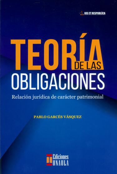 Teoría de las obligaciones. Relación jurídica de carácter patrimonial