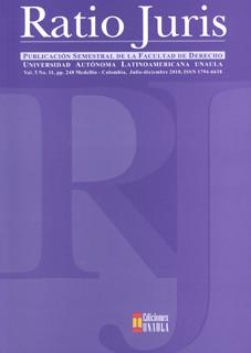 Revista Ratio Juris. Vol. 5. No.11