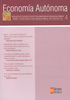 Revista económía autónoma. No.4